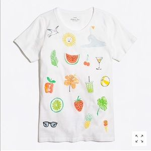 J Crew Summer Icon Collector Tee